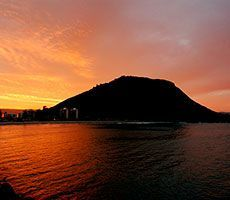 Mount Maunganui Sunset, Bay of Plenty